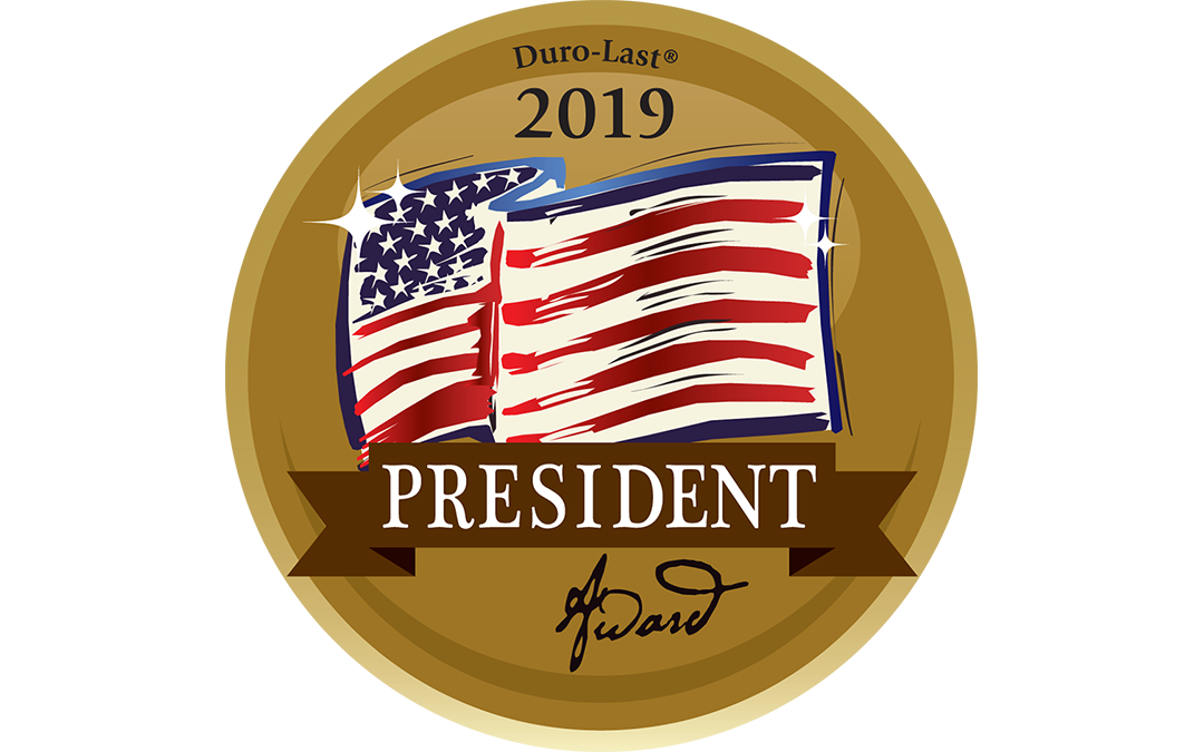 Select Construction Honored with President Award by Duro-Last®, Inc.